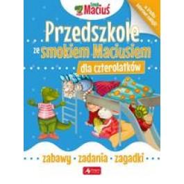 Przedszkole ze Smokiem Maciusiem dla czterolatków