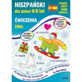 Hiszpański dla dzieci 6-8 lat Ćwiczenia Zima (wyd. 2018)