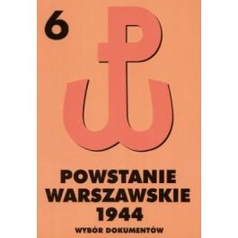 Powstanie Warszawskie 1944, tom 6