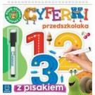 Cyferki przedszkolaka 5-6 lat. Seria z pisakiem. Piszę, liczę i zmazuję