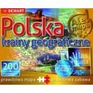Atlas + Puzzle 200 Polska Krainy geograficzne