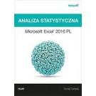 Analiza statystyczna. Microsoft Excel 2016 PL