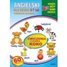 Angielski dla dzieci 3-7 lat Ćwiczenia z kurką Koko Zeszyt nr 23 (wyd. 2018)