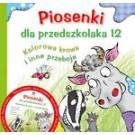 Piosenki dla przedszkolaka 12. Kolorowa krowa i inne przeboje + CD