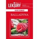 Twoje lektury Balladyna (oprawa twarda)