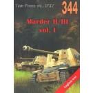 Tank Power vol. XCIX 344 Marder II/III vol. I (English text)