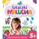 Szlaczki malucha 5+ Książeczka edukacyjna z naklejkami