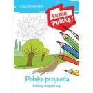 Kolorowanka Polska przyroda rośliny i krajobrazy