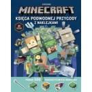 Minecraft Księga podwodnej przygody z naklejkami