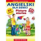 Angielski dla dzieci. Picture stories. Samouczek + rozmówki dla dzieci (Wyd. 2016)